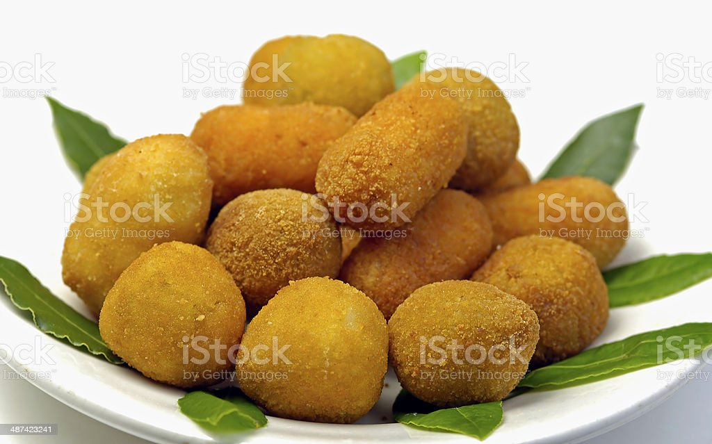 Italian mixed fried stock photo