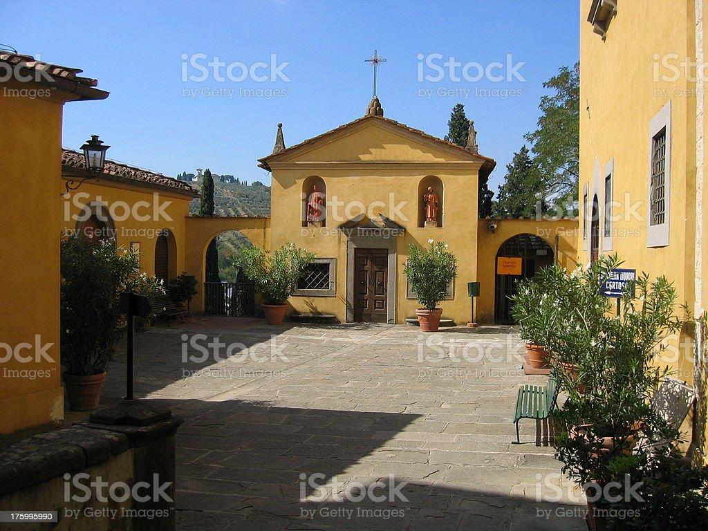 Italian Monastery royalty-free stock photo