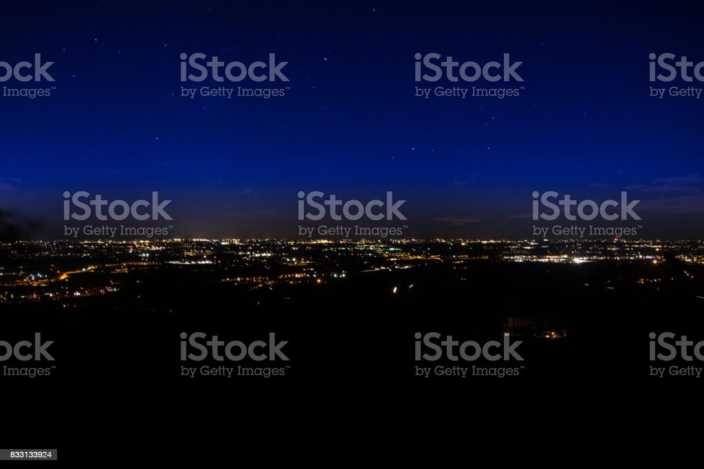 Italian night stock photo