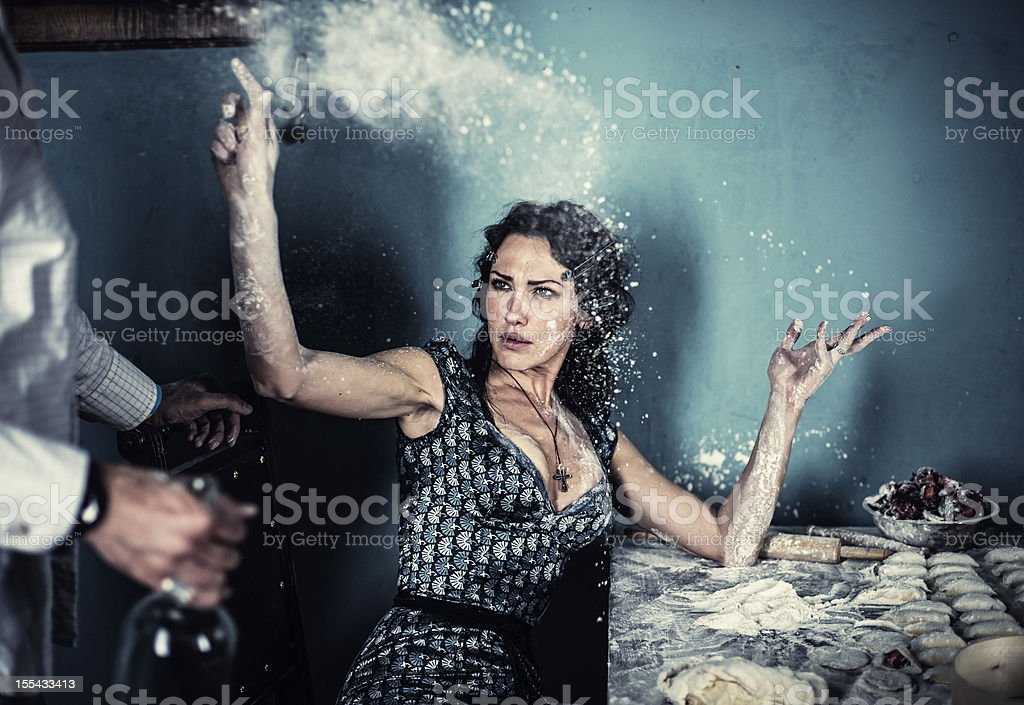 italian passion stock photo