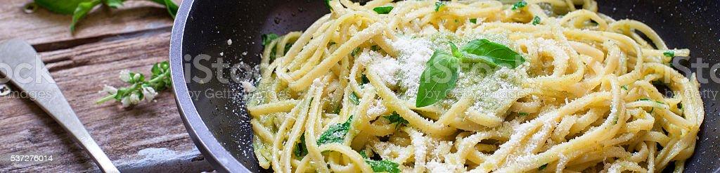 Italian pasta food stock photo