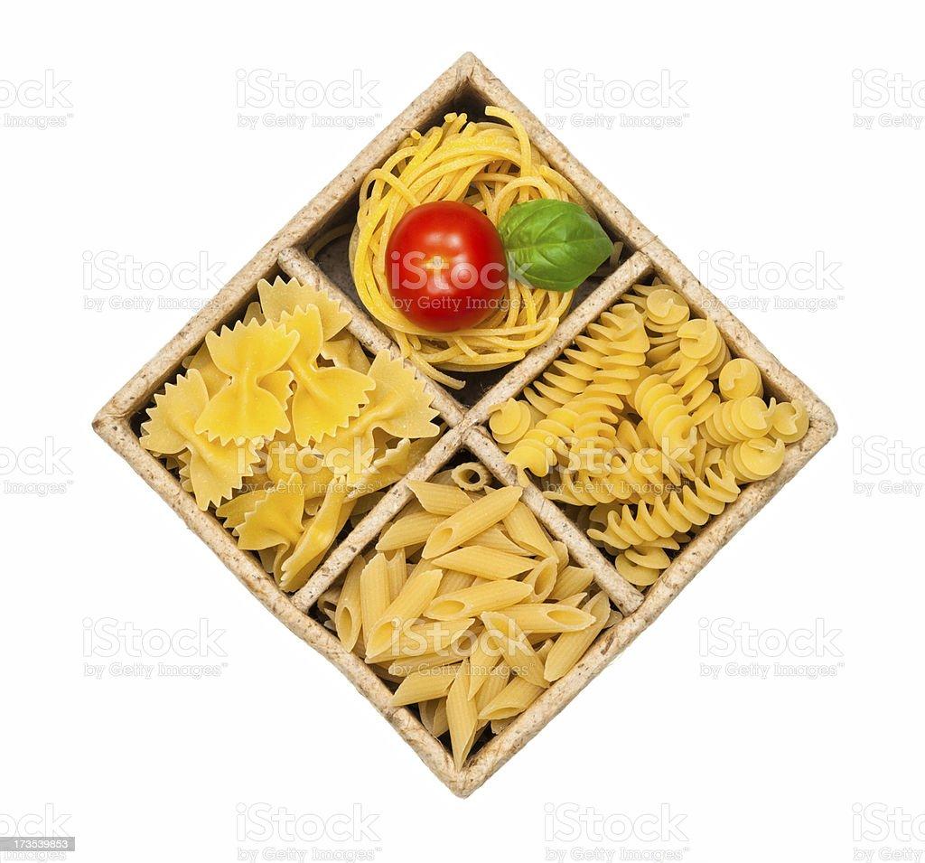 Italian pasta. penne all'arrabbiata. royalty-free stock photo