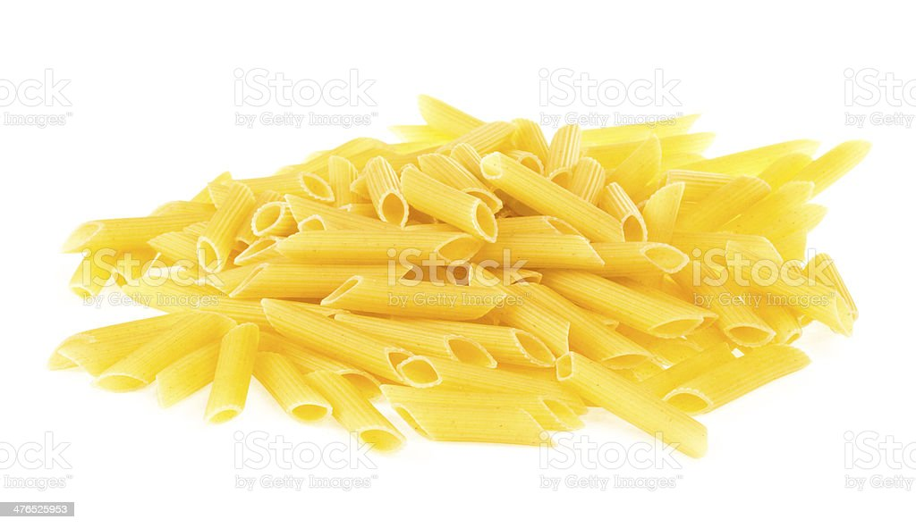 Italian pasta penne royalty-free stock photo