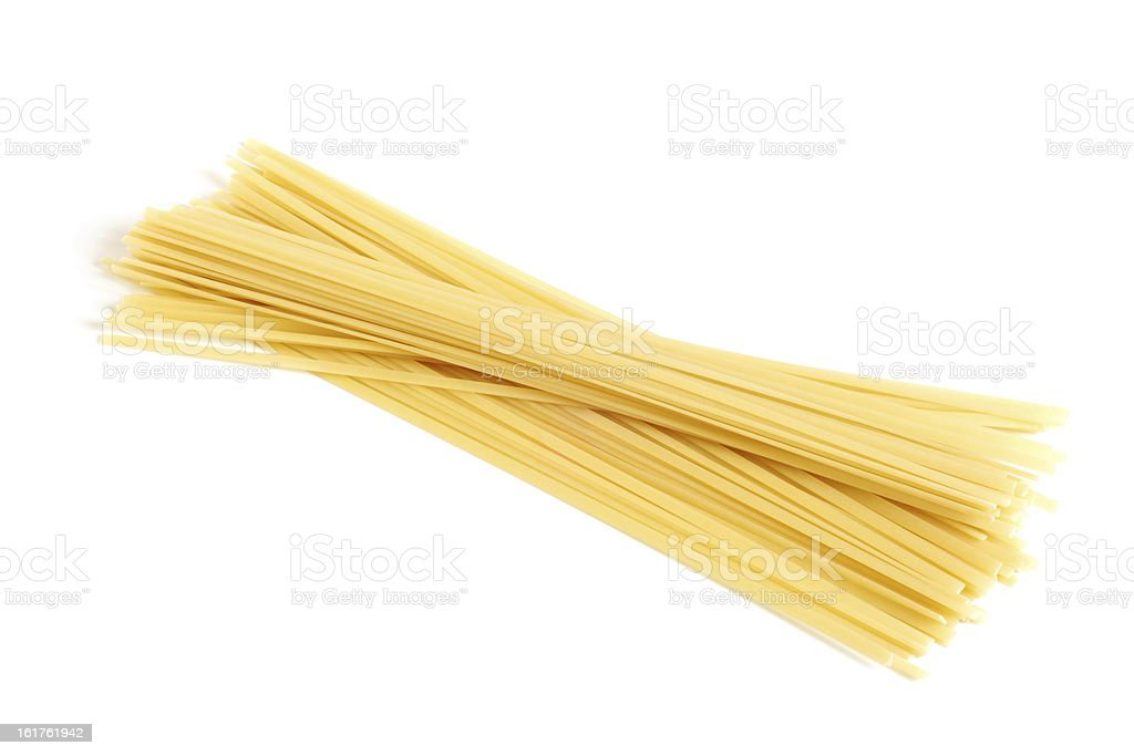 Italian pasta (spaghetti) stock photo