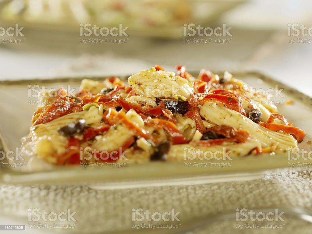 Italian Pasta Salad royalty-free stock photo