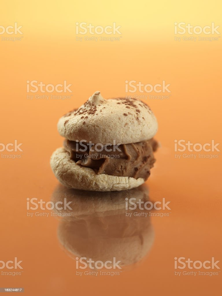 italian pastry royalty-free stock photo
