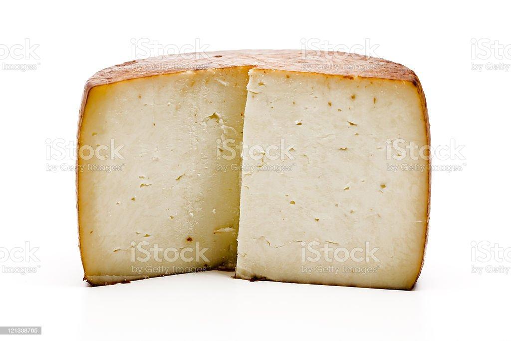 italian pecorino cheese stock photo