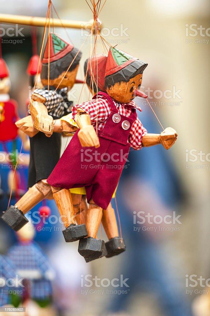 Italian Pinocchio royalty-free stock photo