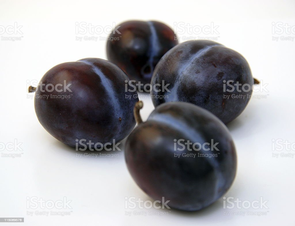italian plums - fruit royalty-free stock photo