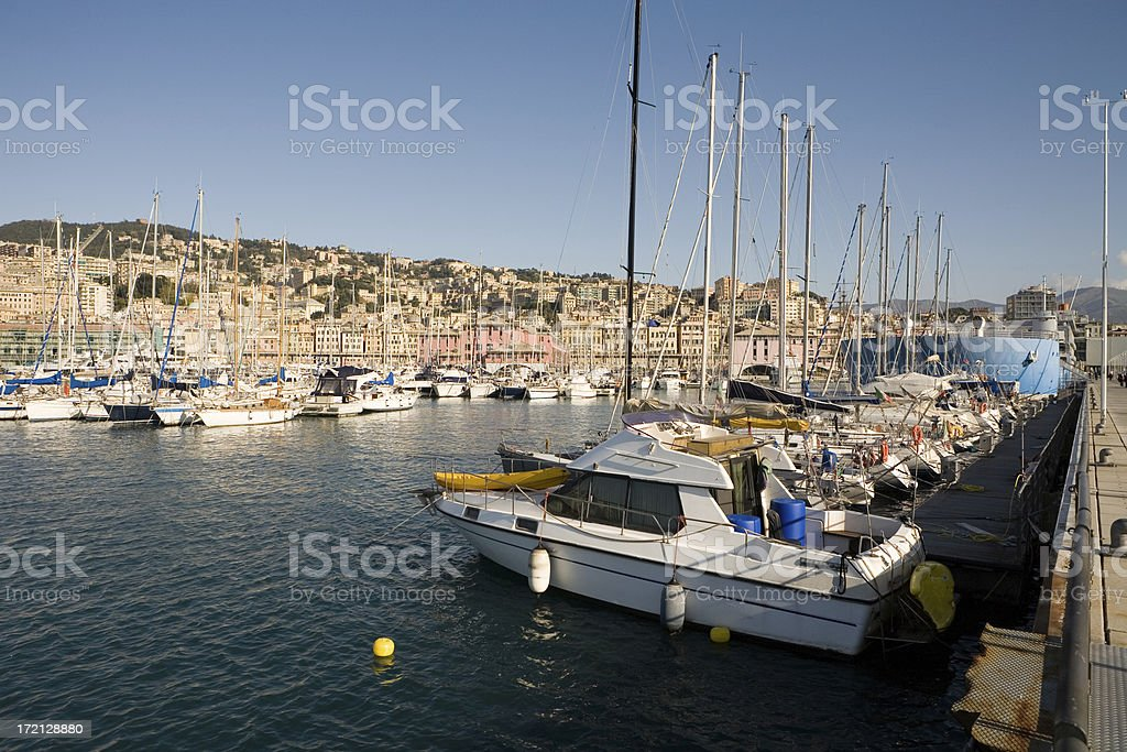 Italian Port stock photo