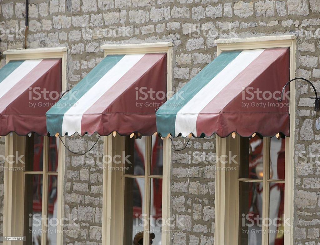 Italian restaurant exterior - Italian Restaurant Exterior Royalty Free Stock Photo