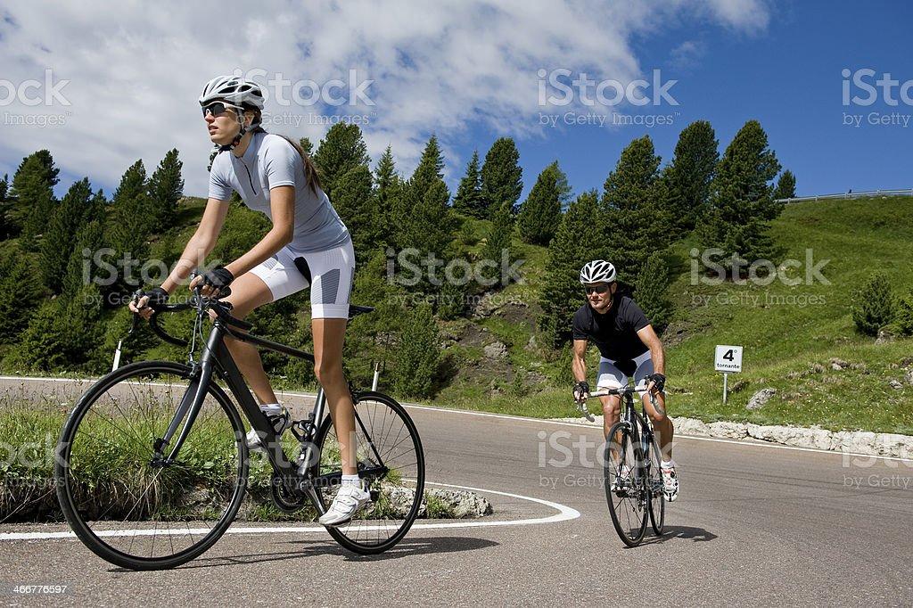Italian right road stock photo