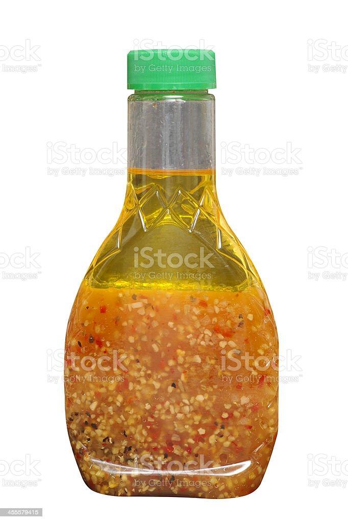 Italian Salad Dressing stock photo