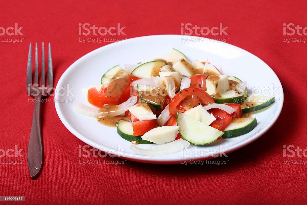 Italian Salad royalty-free stock photo