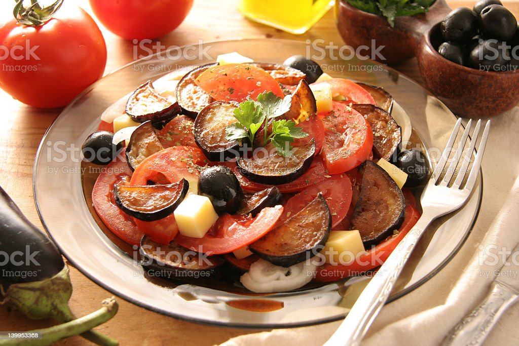 Italian salad. royalty-free stock photo