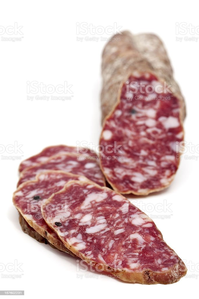 italian salami royalty-free stock photo