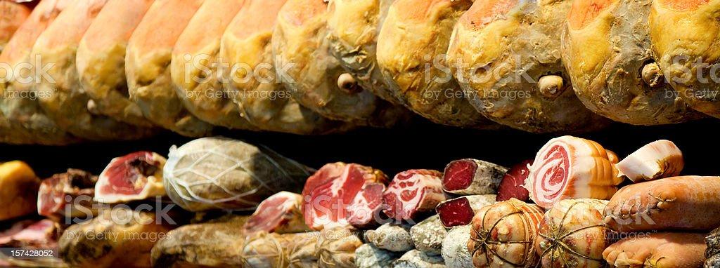 Italian salumi royalty-free stock photo