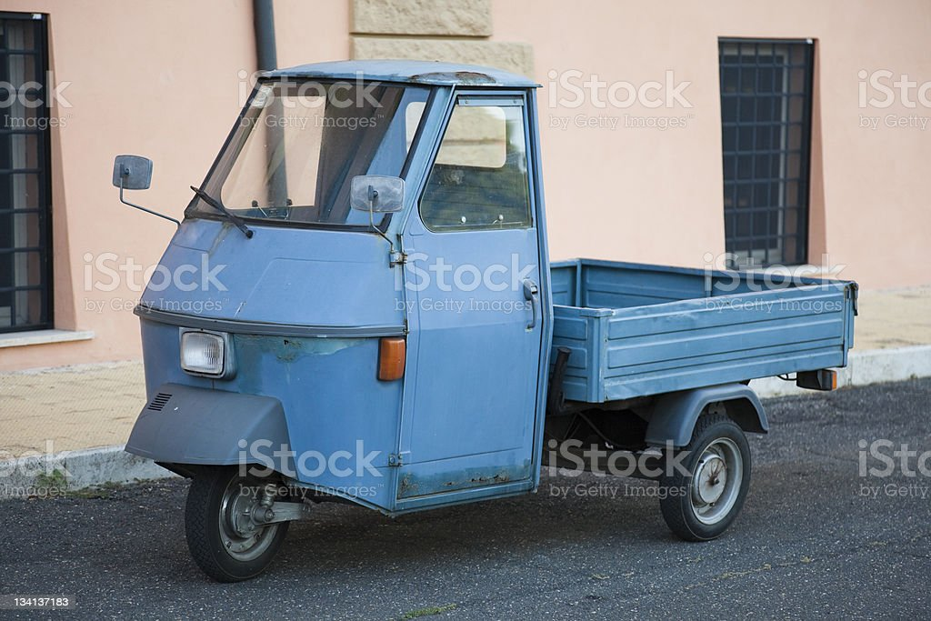 Italian Scooter. royalty-free stock photo