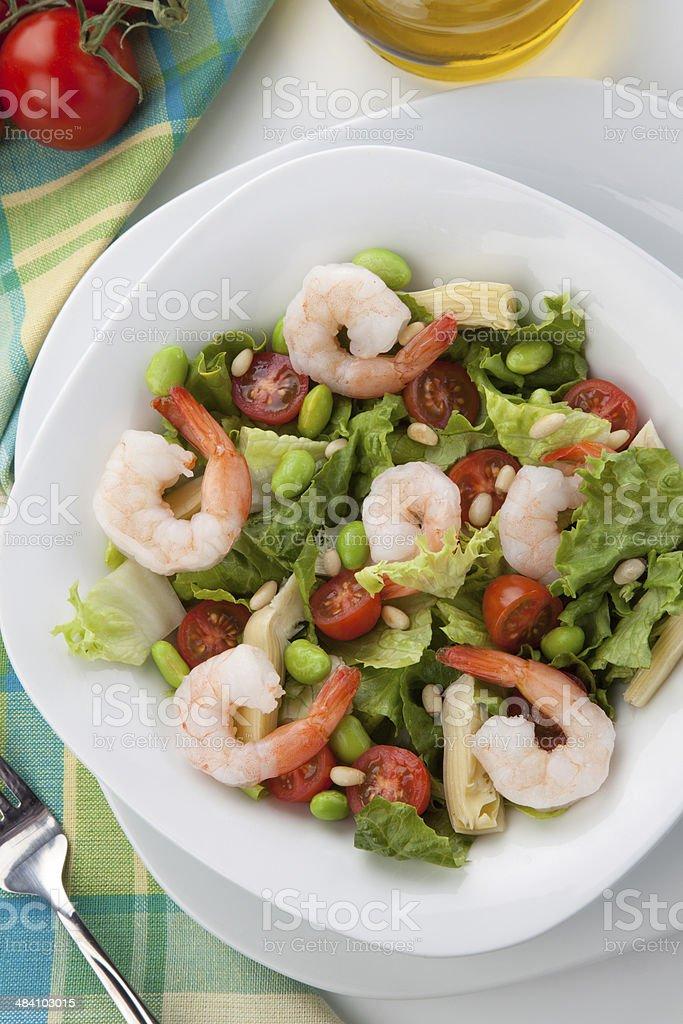 Italian Shrimp Salad royalty-free stock photo