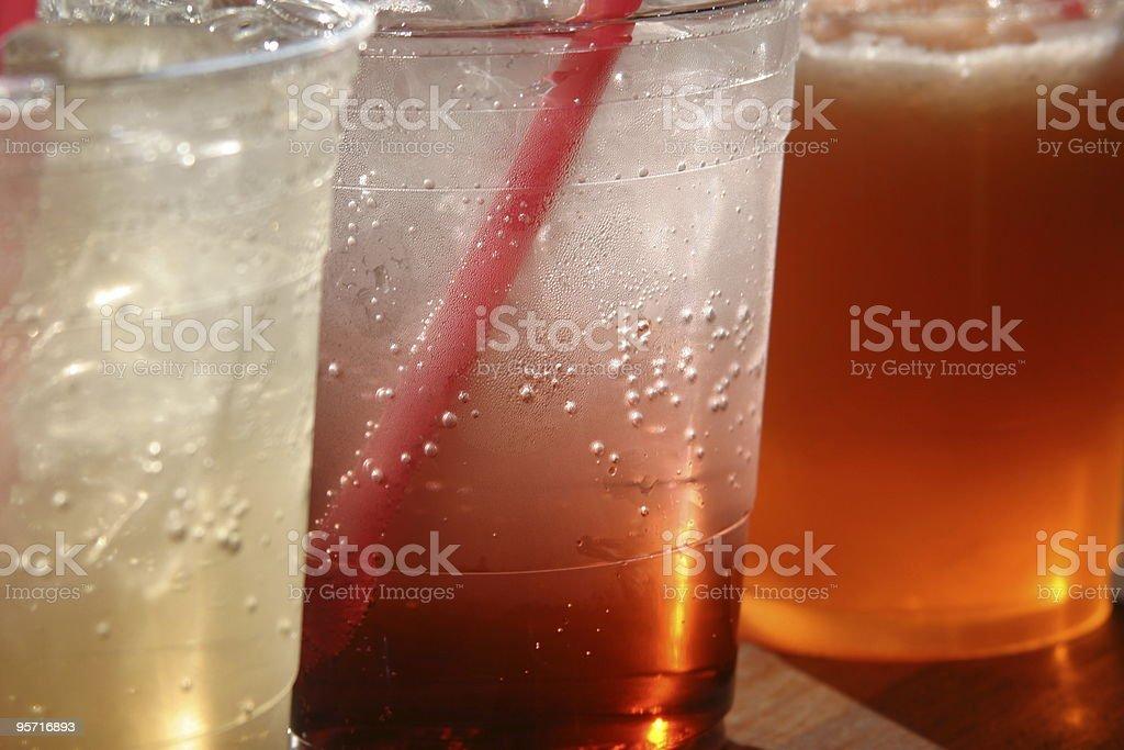 Italian sodas stock photo
