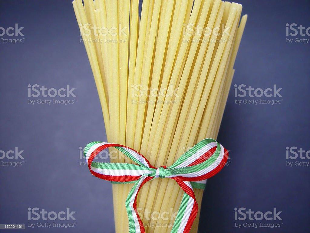 Italian Spaghetti royalty-free stock photo