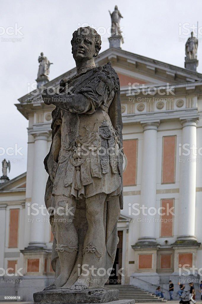 Italian Statue royalty-free stock photo