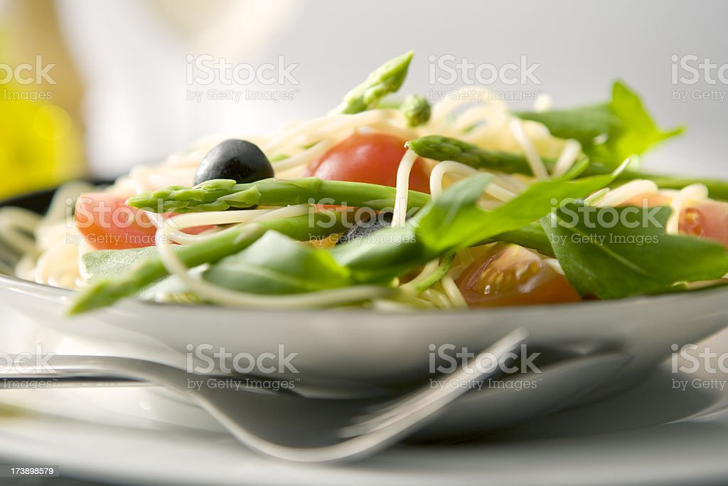 Italian Stills: Spaghetti Vegetarian royalty-free stock photo