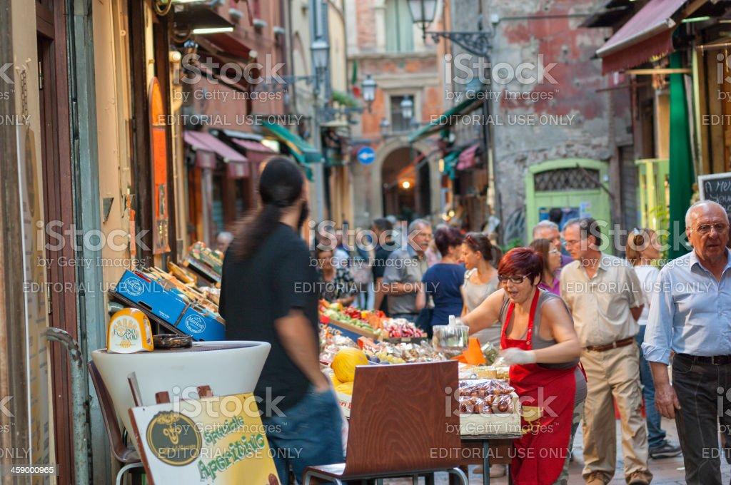 Italian Street Life stock photo
