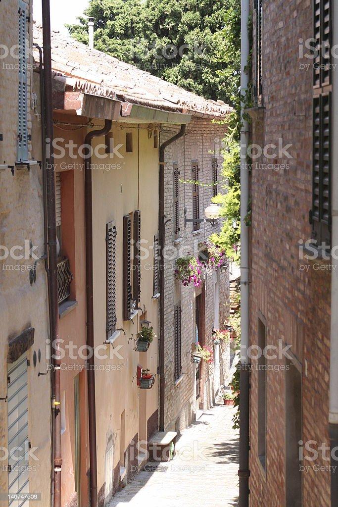 Italian street royalty-free stock photo