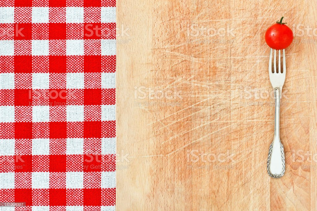 Italian Style Food Background stock photo