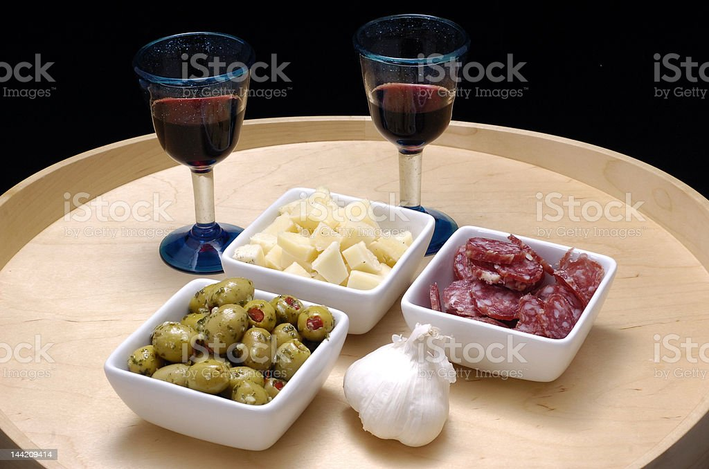 italian tapas stock photo