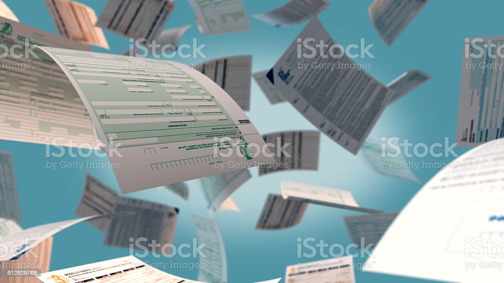 italian taxes concept stock photo