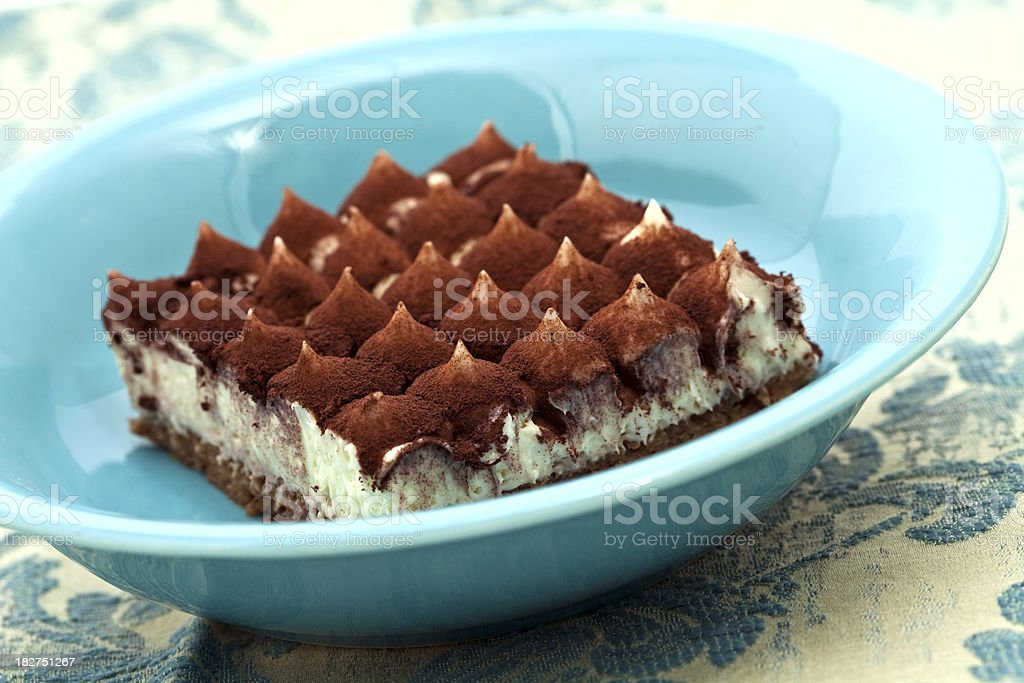 italian tiramisu royalty-free stock photo