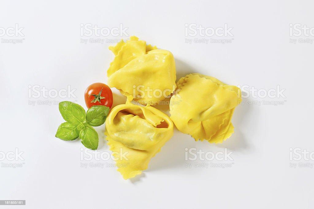 italian tortellini stock photo