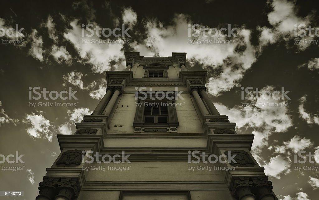 Italian Tower stock photo