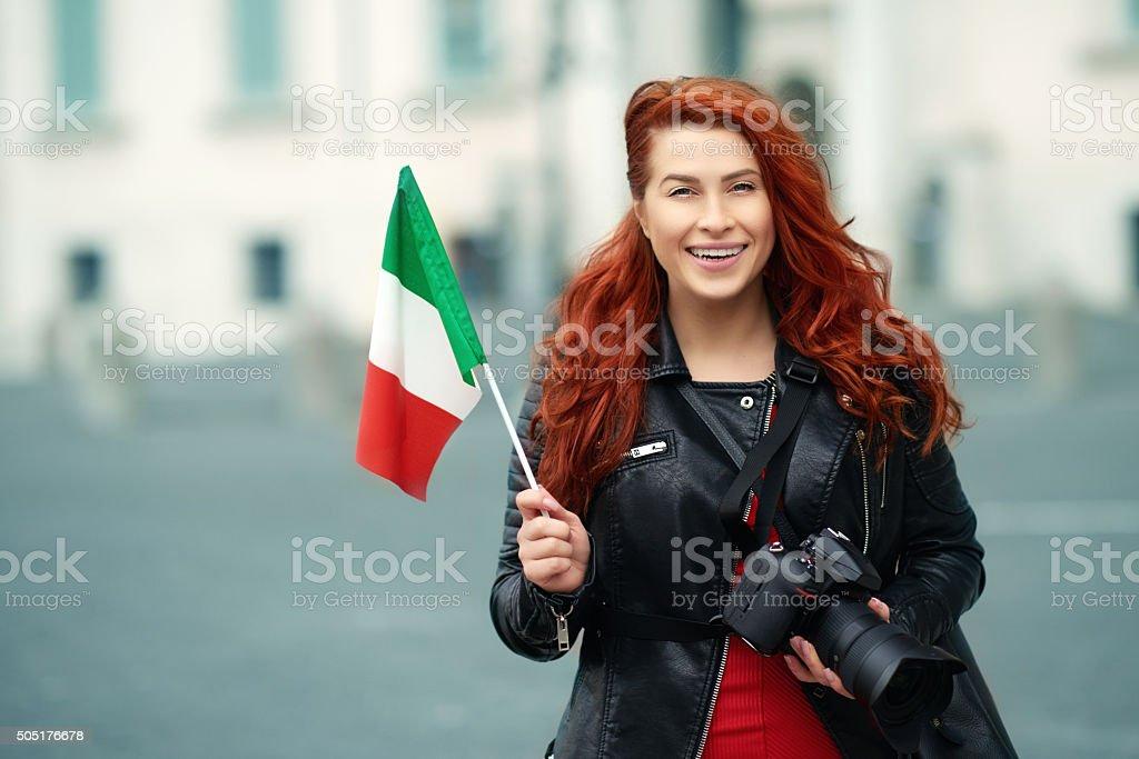 Italian trip stock photo