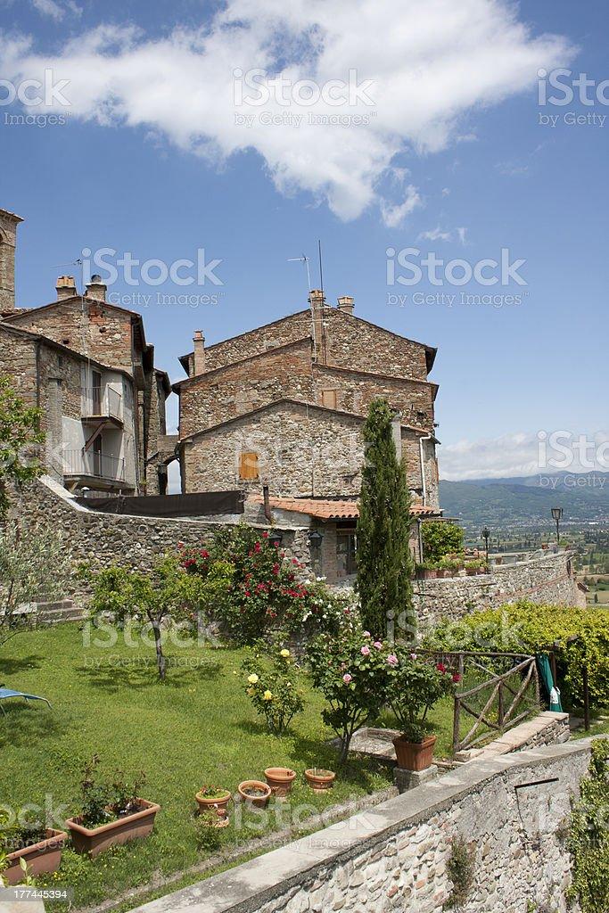 Italian village royalty-free stock photo