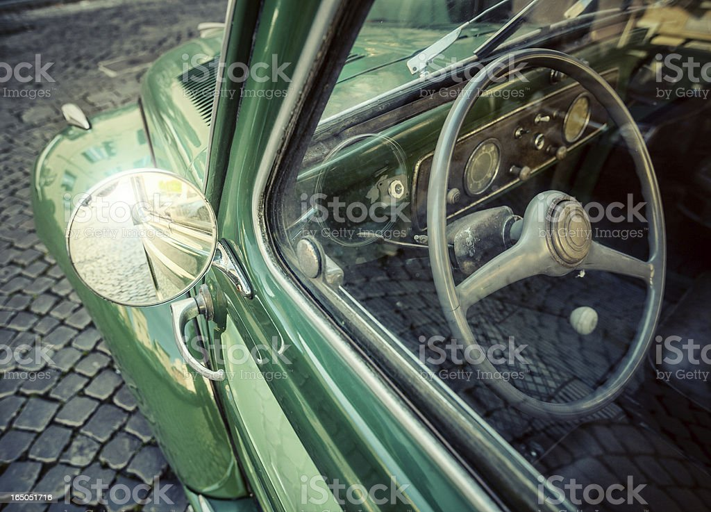 Italian vintage car royalty-free stock photo