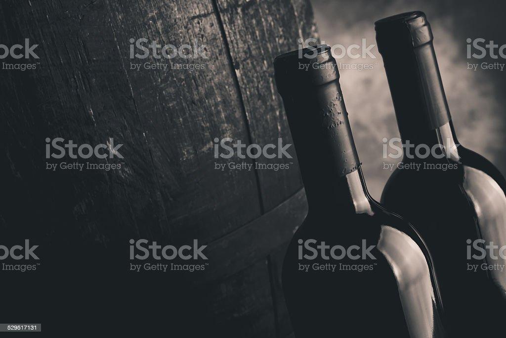 italian wine stock photo