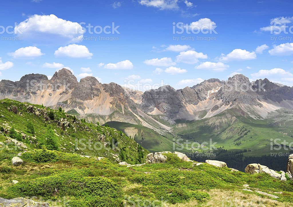 Italy Alps stock photo
