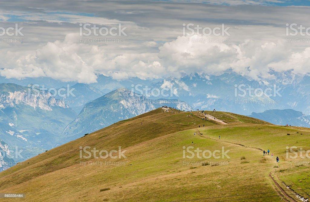 Italy - Alps stock photo