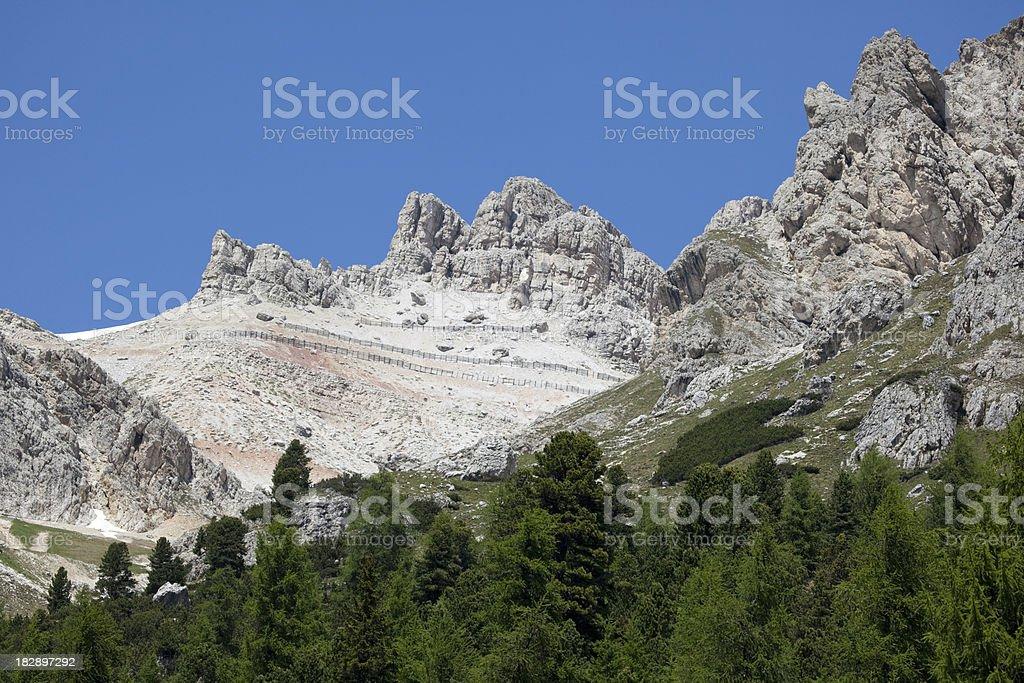 Italy and the Italian Dolomites, Alpine Mountains royalty-free stock photo