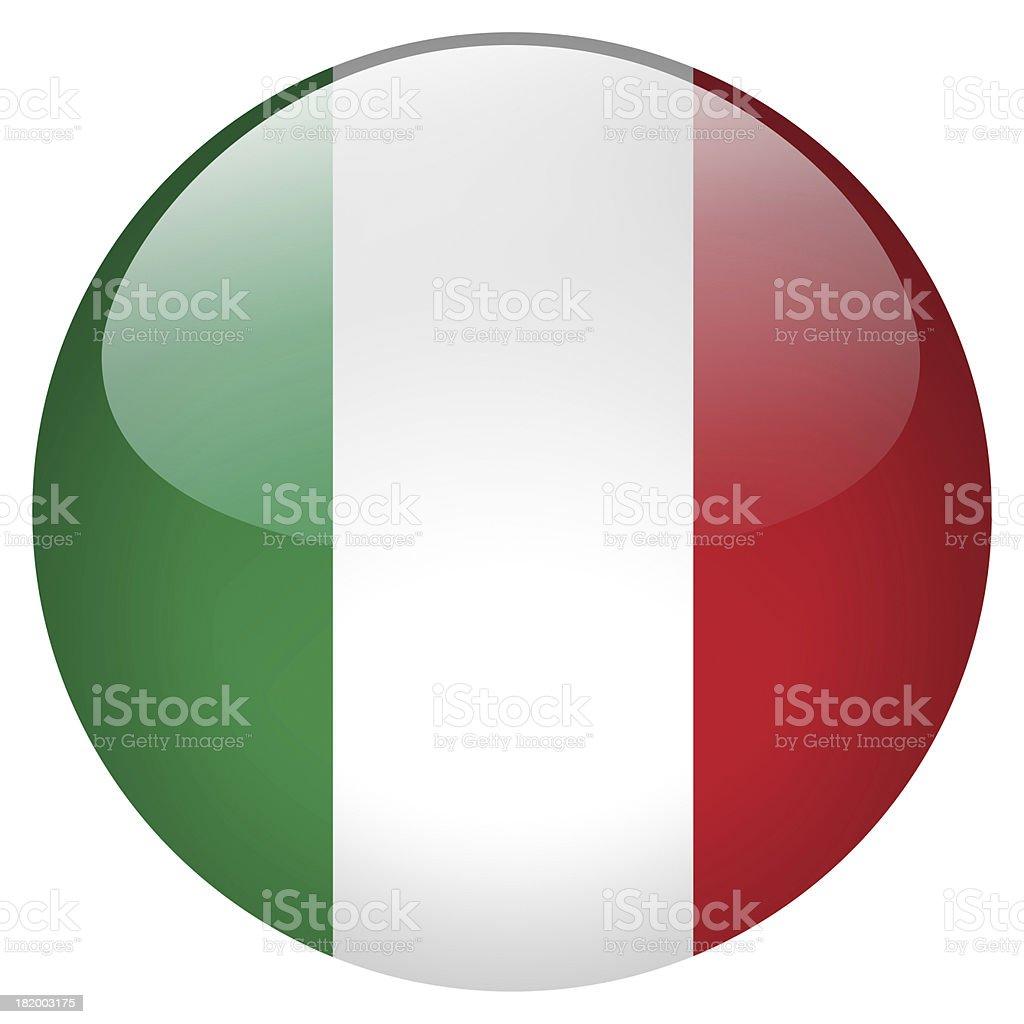 italy button royalty-free stock photo