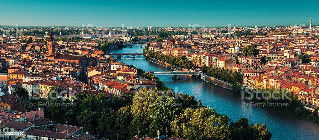 Italy, city of Verona stock photo