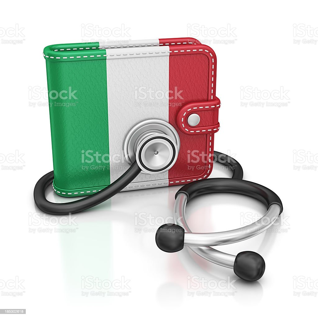 italy diagnostic royalty-free stock photo