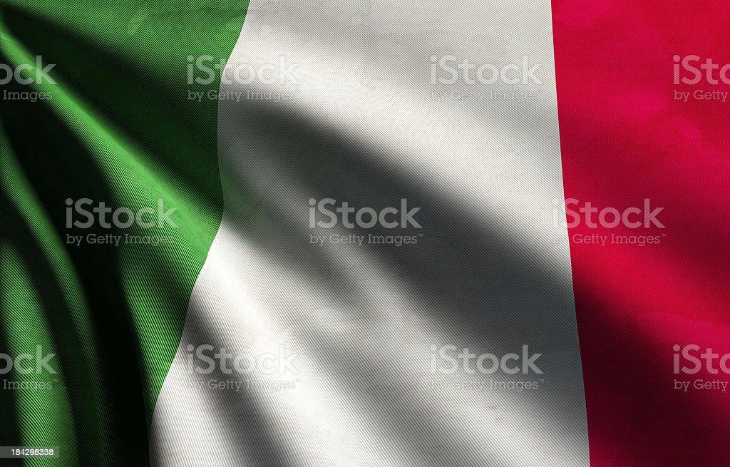 Italy Flag royalty-free stock photo