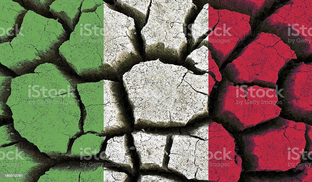 Italy flag. royalty-free stock photo