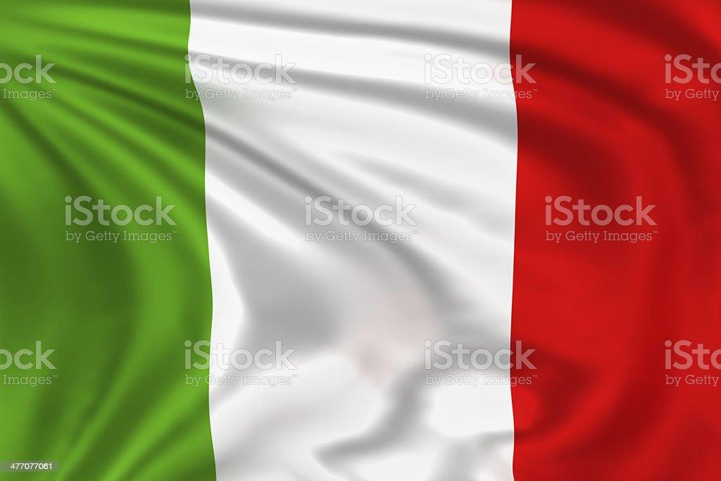 Italy Flag stock photo