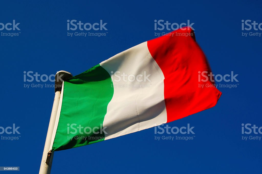 Italy Flag royalty-free stock photo