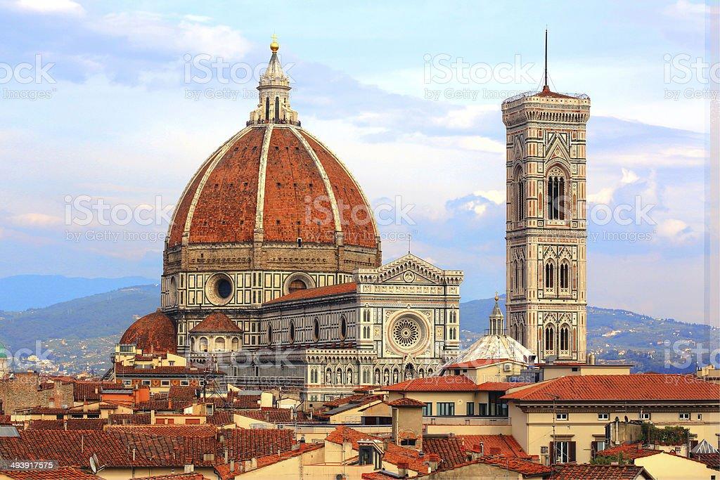 Italy Florence Santa Maria Del Fiore - Duomo di Firenze stock photo